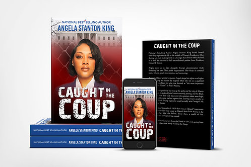 CAUGHT IN THE COUP - Autographed Copy