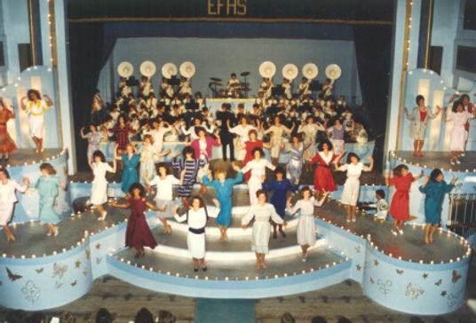 Alumnae Honeybees (1969-1984) recall their tryouts for a position in theChorus Line