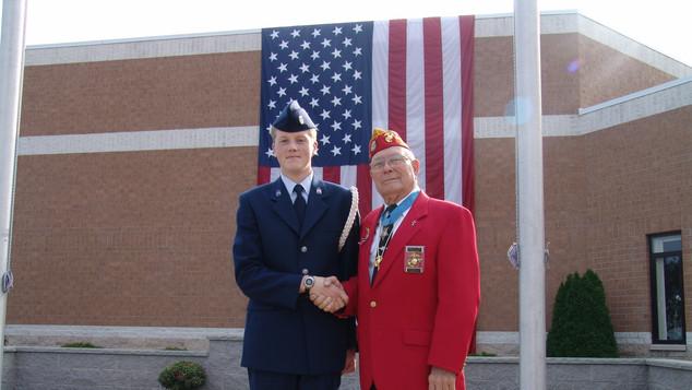 2004 Veterans Memorial Plaza Dedication