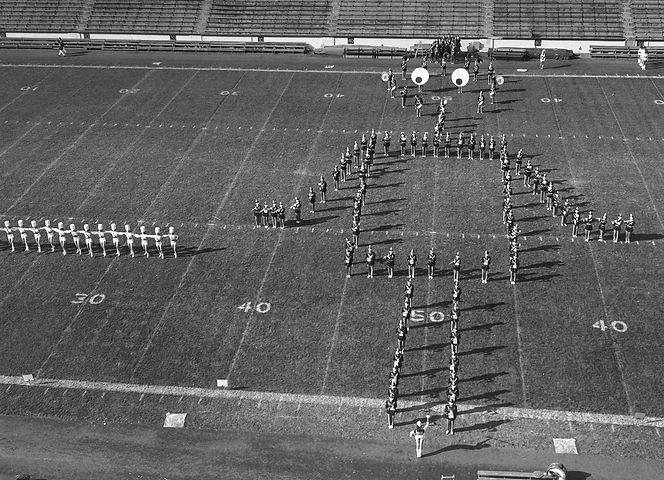 The Busy Bee Band & Honeybees present their 1967 Field Show