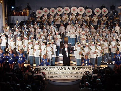Busy Bee Band Follies 2000 wth Entire ensemble onstae