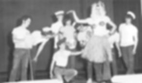 "Busy Bee Band on Broadway '72 presents scene from From the musical ""SOUTH PACIFIC"""