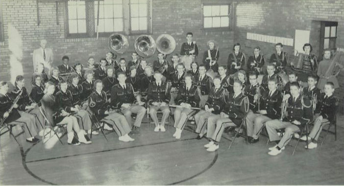 1957-1958 East Fairmont Busy Bee Band