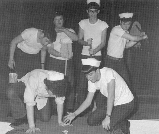 "The Sailors of ""SOUTH PACIFIC"""