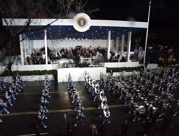 2001 Presidential Inaugural Parade - Busy Bee Band