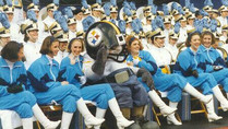 Busy Bee Band performs at Pittsburgh Steelers game at Three Rivers Stadium