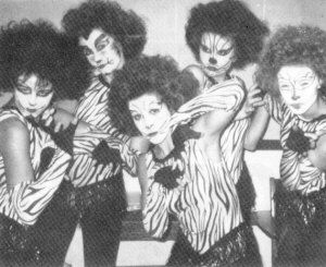 """Andrew Lloyd Webber's """"Cats"""" during Follies 1986"""