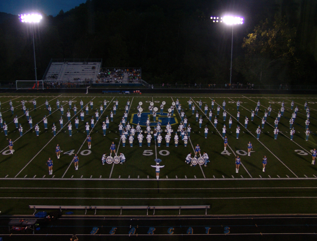 East Fairmont High School Busy Bee Band and Honeybees