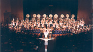 The entire Busy Bee Band & Honeybees perform in Showcase 2002