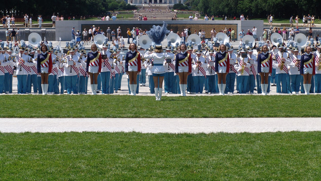 Busy Bee Band performs at National World War II Memorial