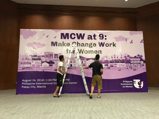 MCW at 9 Backdrops, and Display Modules