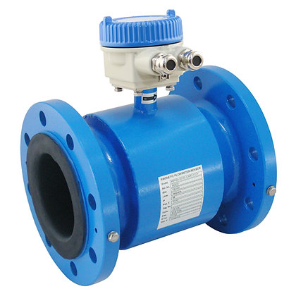 Magnetic Flowmeter | 150# Flanged | Rubber Lined