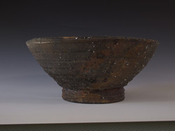 Natural clay Fruit bowl (side)