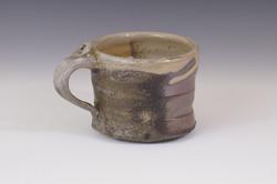 Wood-fired shino Coffee mug