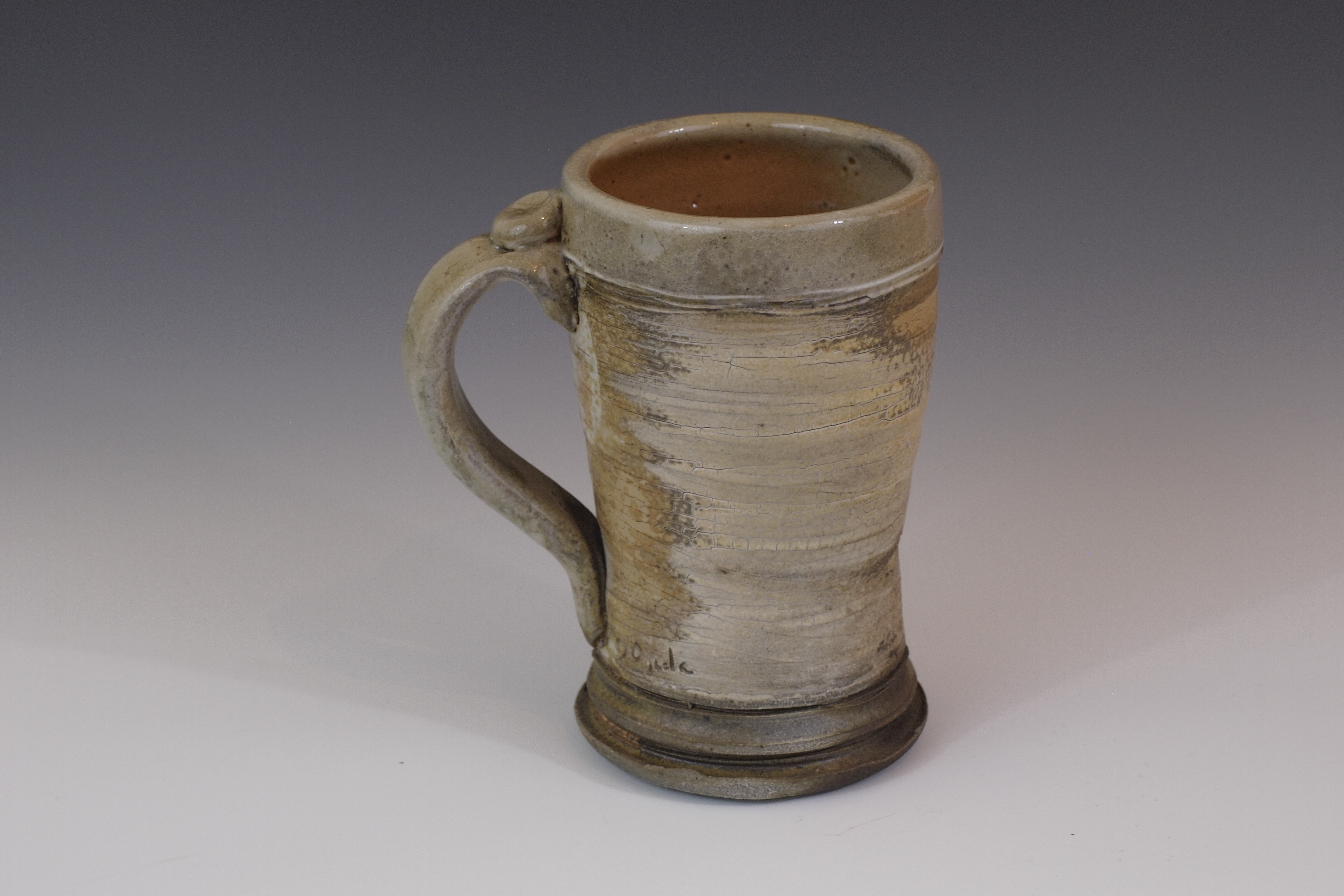 Wood-fired beer stein