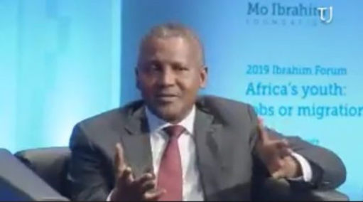 Africa's richest man-Nigerian billionaire Aliko Dangote says