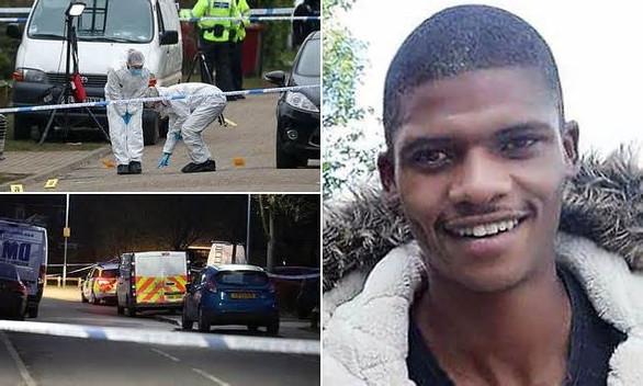 Prankster, 24, was stabbed to death on Valentine's Day after sending joke text to close friend, 28