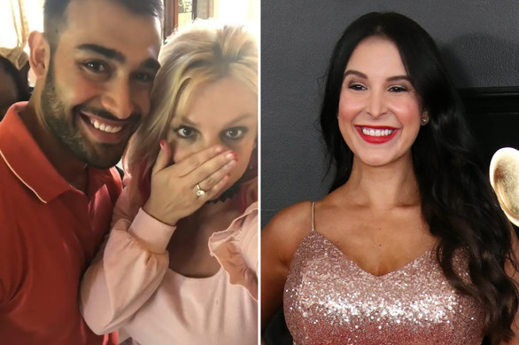 Sam Asghari's ex Mayra Veronica says he 'hit the jackpot' with Britney Spears engagement