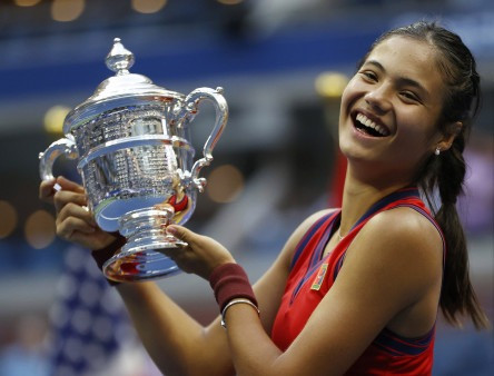 Emma Raducanu says it 'meant everything' to get message from Queen after US Open win