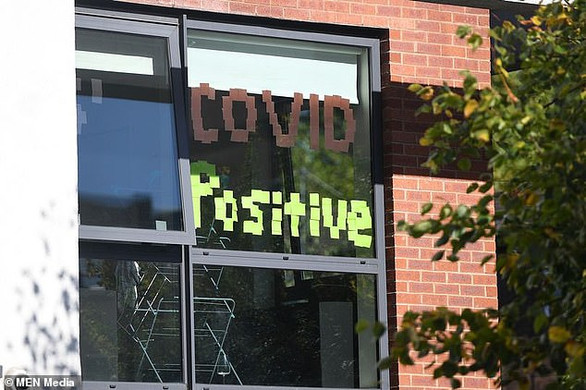 Students in Manchester hold COVID parties for those who have tested Positive