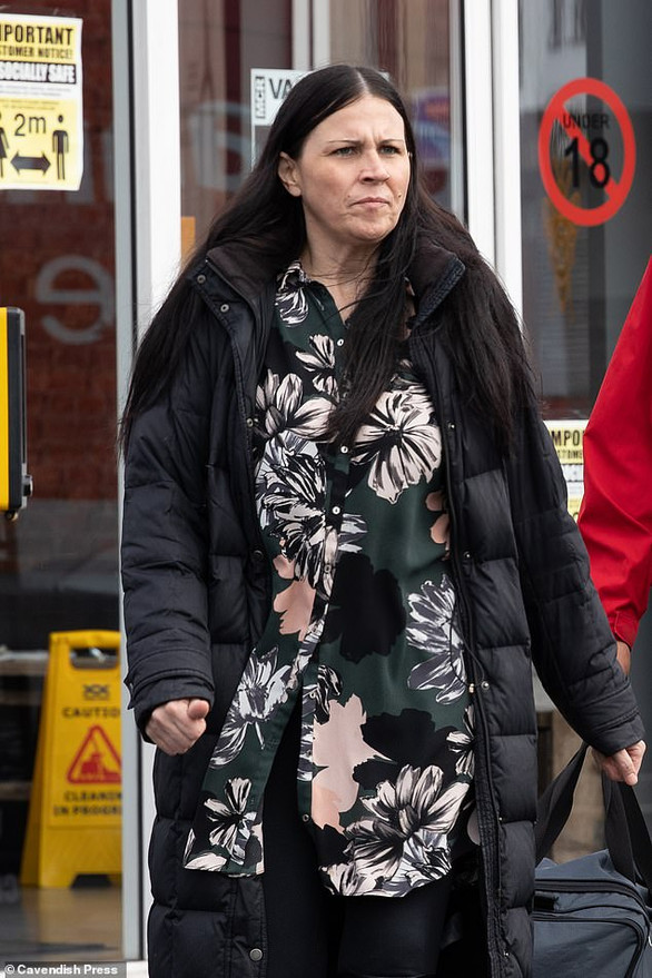 Woman, 40, seen by shoppers having 'al fresco' sex with stranger on pavement is fined £230