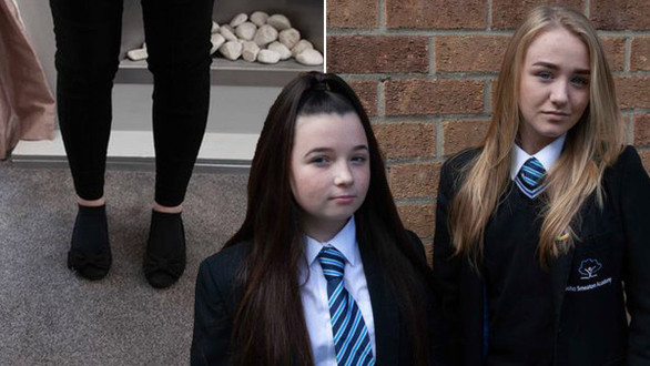 13-year-old Schoolgirl 'excluded after refusing to change figure-hugging trousers'