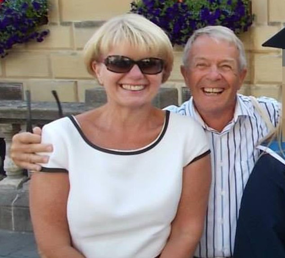 Husband 'held knife to his wife's throat' before she stabbed him to death in a row over her birthday