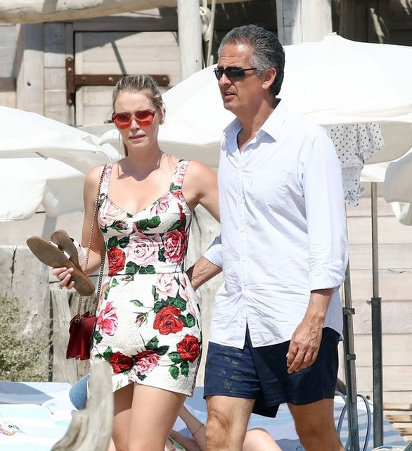 Princess Diana's niece Lady Kitty Spencer, 30, marries billionaire fashion tycoon Michael Lewis, 62