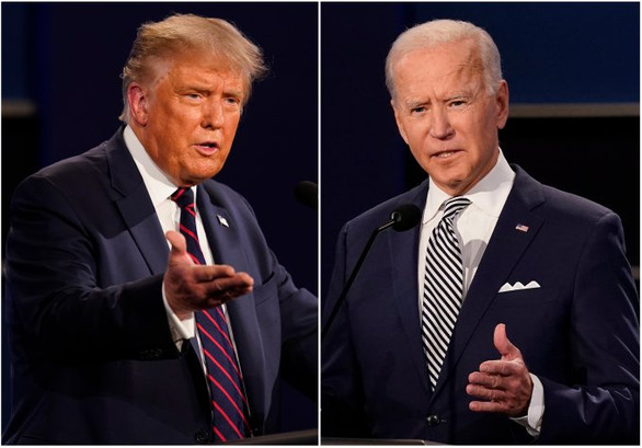 Biden leads Trump by 11-point less than 3 weeks to Election Day, poll finds