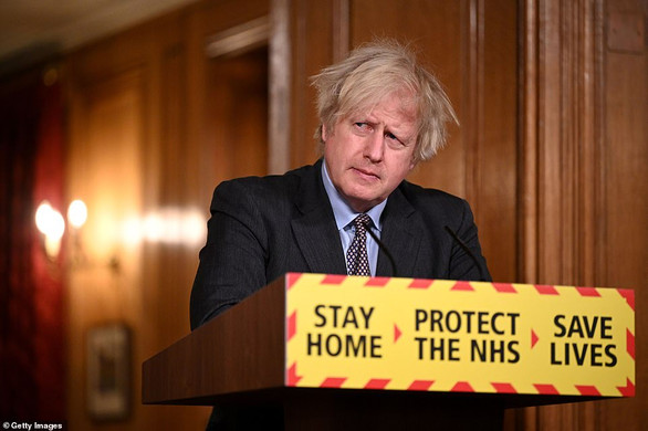 Boris Johnson warned by SAGE there would be 91,000 extra deaths if curbs were scrapped in April