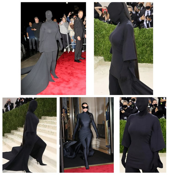 Kim Kardashian claps back over covered up Balenciaga look did not fit Met Gala's 'America' theme