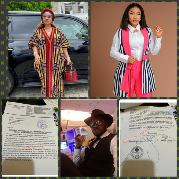 Tonto Dikeh files petition against Kpokpogri for blackmail extortion & obtaining by false pretences