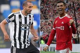 Giorgio Chiellini makes Cristiano Ronaldo remark after Juventus awful start continues