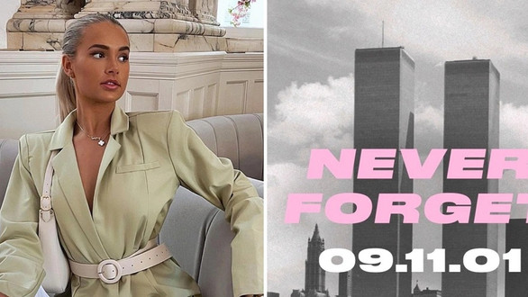 Molly-Mae Hague and PrettyLittle Thing slammed over distasteful 9/11 Instagram tribute