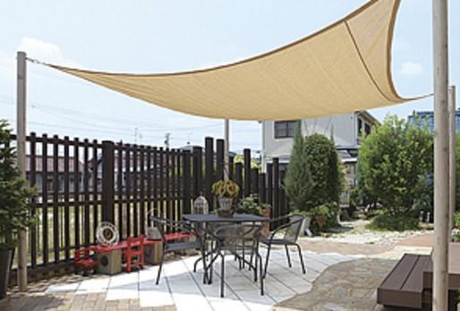 暑い夏 紫外線を遮りより快適なお庭へ