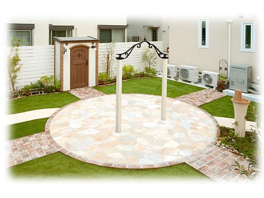 お庭やエントランスのフォーカルポイント ディーズアーチ