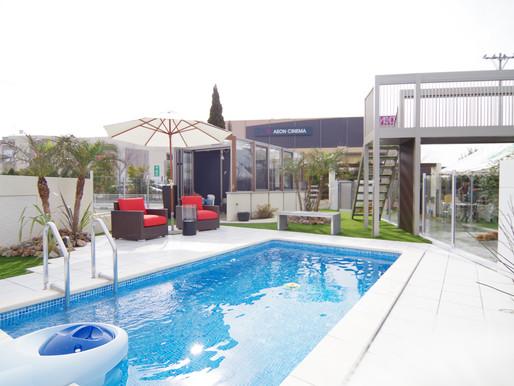 庭遊館プール この夏もご利用お待ちしております。