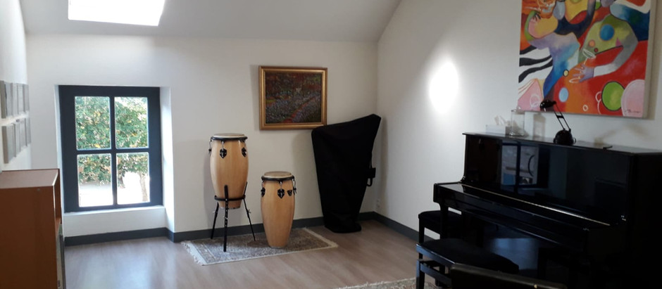 Salle cours de piano