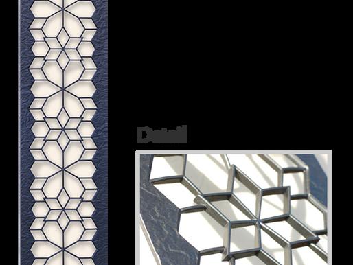 鋳物の立体感 こだわりのデザイン キャストパネル ディーズガーデン