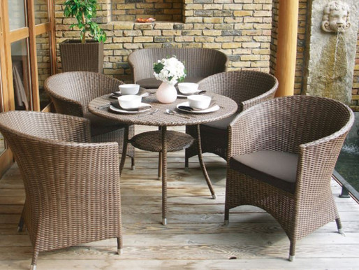 紫外線にも強いので屋外でも安心して使える 全天候型家具 ドイツ品質