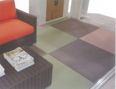 丸洗いできる畳 ペット用畳