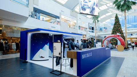 Samsung - Pop-Up Mall Tour