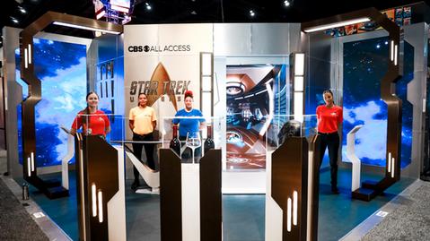 CBS All Access - Star Trek Universe Transporter Experience