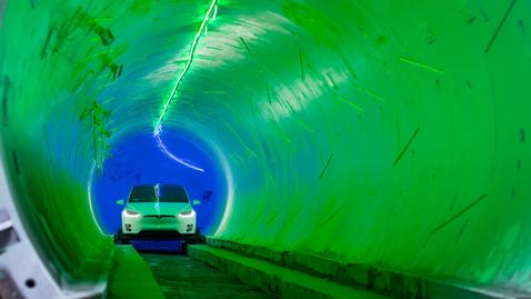The Boring Company - Tunnel Preview