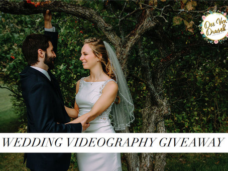 Enter our 2019 Wedding Videography Giveaway!