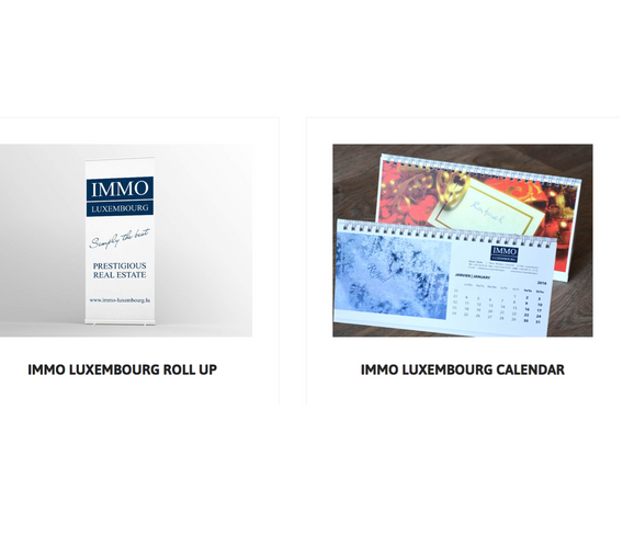 Immo Luxembourg Roll-up / Calendar