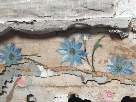 Old Wallpaper Revealed!