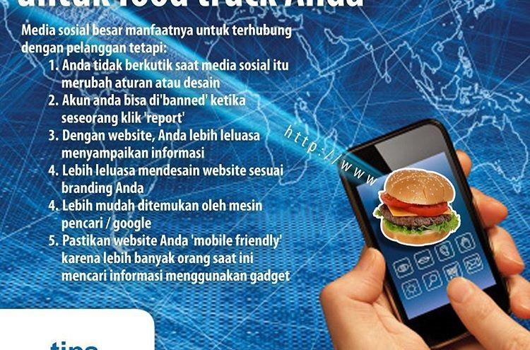 Tips Food Truck Jakarta: Membuat Website Untuk Food Truck Anda