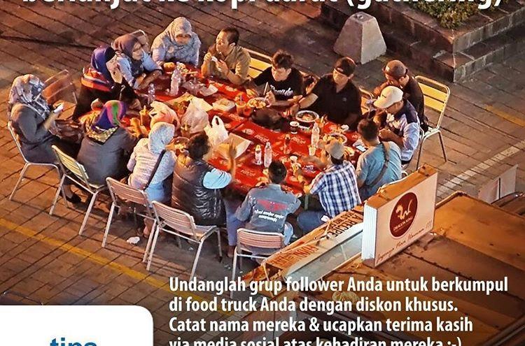 Tips Food Truck Jakarta: Dari Dunia Maya Berlanjut Ke Kopi Darat (Gathering)
