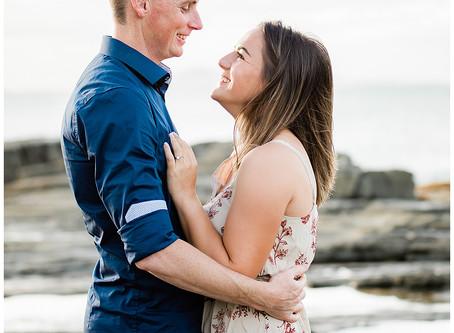 A & N Engagement Shoot Mooloolaba Beach